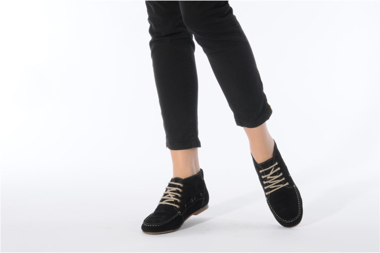 Sandales et nu-pieds Jonak Charlotte Noir vue bas / vue portée sac