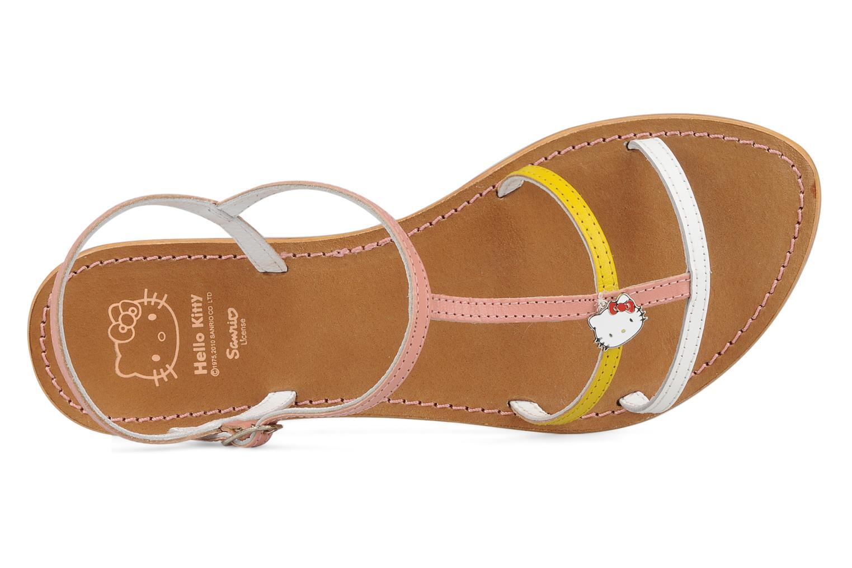 Sandali e scarpe aperte Hello Kitty Cute Rosa immagine sinistra