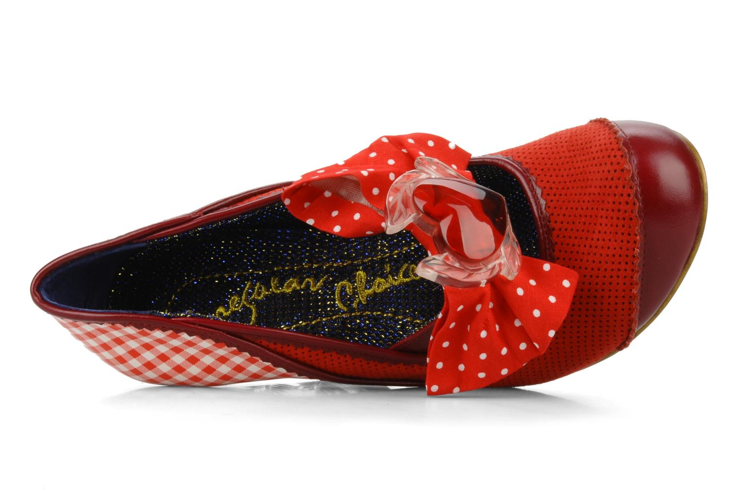 Décolleté Irregular choice I'm from bury Rosso immagine sinistra