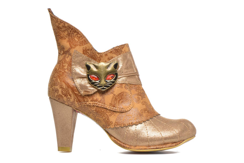 Bottines et boots Irregular Choice Miaow Beige vue derrière