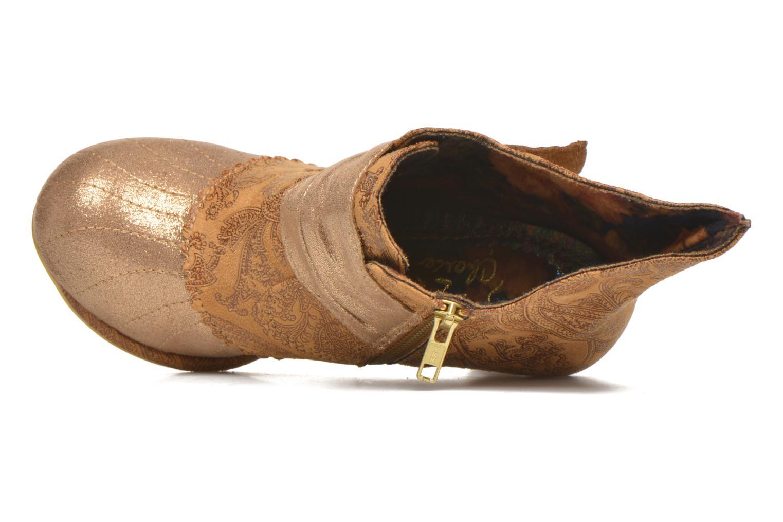 Bottines et boots Irregular Choice Miaow Beige vue gauche