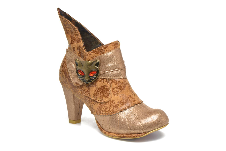 Bottines et boots Irregular Choice Miaow Beige vue détail/paire