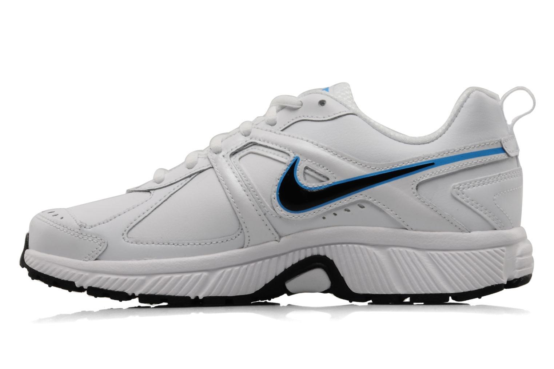 Sportschoenen Nike Dart 9 lea bgp Wit voorkant