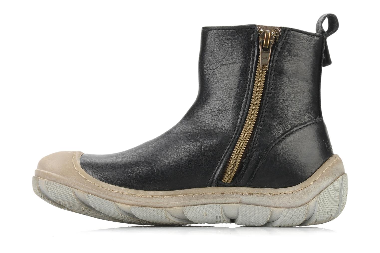 Ankle boots Bisgaard Lavande Black front view