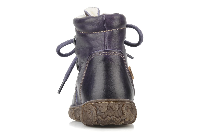 Bottines et boots Bisgaard Loona Violet vue droite