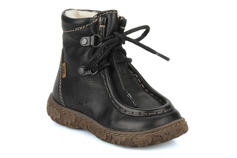 Ankle boots Bisgaard Loona Black detailed view/ Pair view