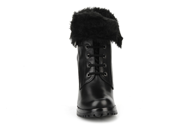 Bottines et boots Eden Micho Noir vue portées chaussures