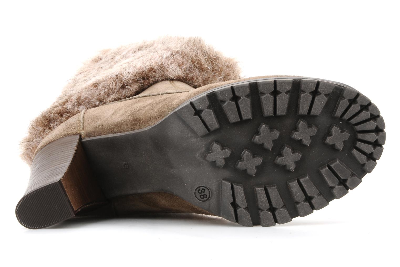Bottines et boots Eden Cincilla Beige vue haut