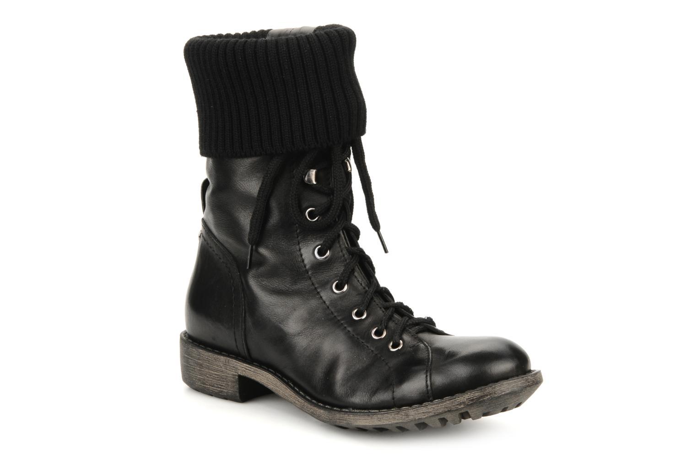 Boots en enkellaarsjes Eden Nems Zwart detail