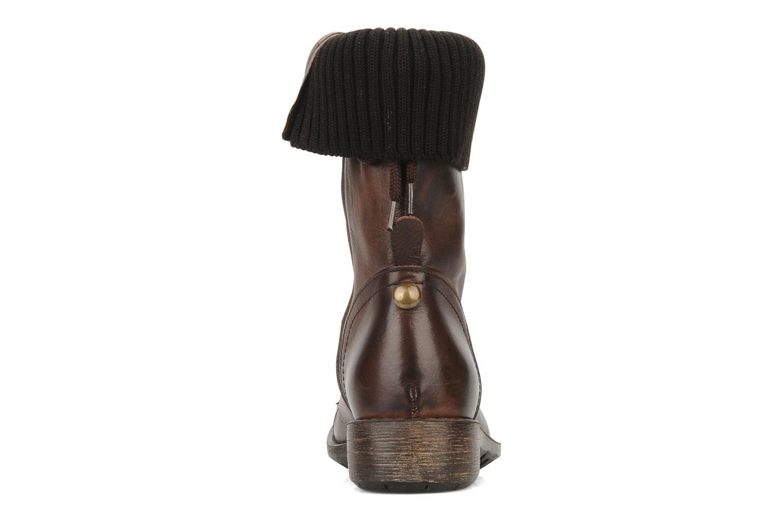 Boots en enkellaarsjes Eden Nems Bruin rechts