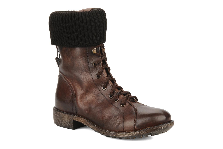 Boots en enkellaarsjes Eden Nems Bruin detail
