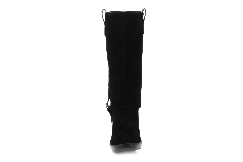 Bottines et boots Eden Carla Noir vue portées chaussures