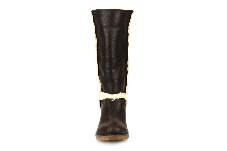 Boots en enkellaarsjes Eden Monta Bruin model