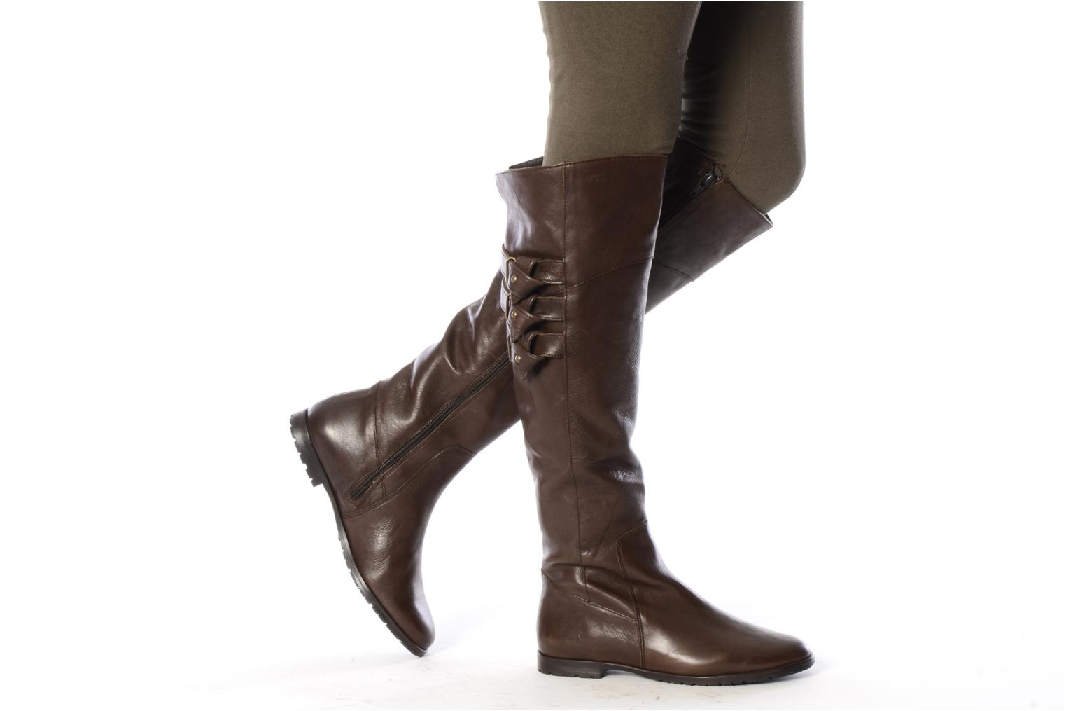 Boots & wellies Eden Bazi Black view from underneath / model view