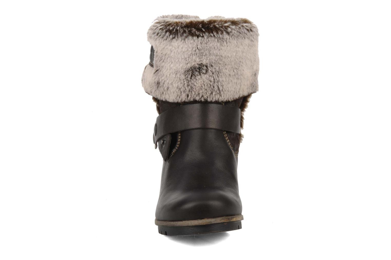 Bottines et boots Tamaris Oprah Marron vue portées chaussures