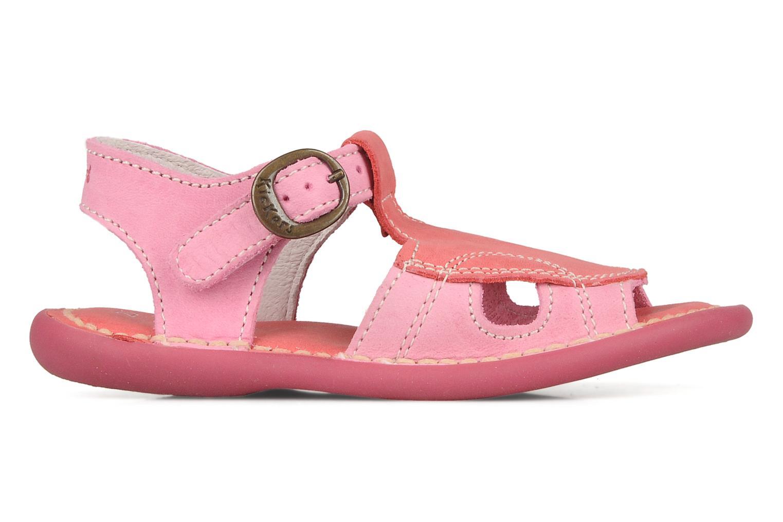 Sandales et nu-pieds Kickers Mitsy Rose vue derrière
