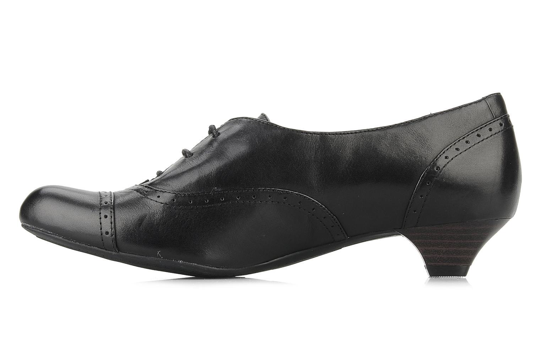 Chaussures à lacets Clarks Colour wheel Noir vue face