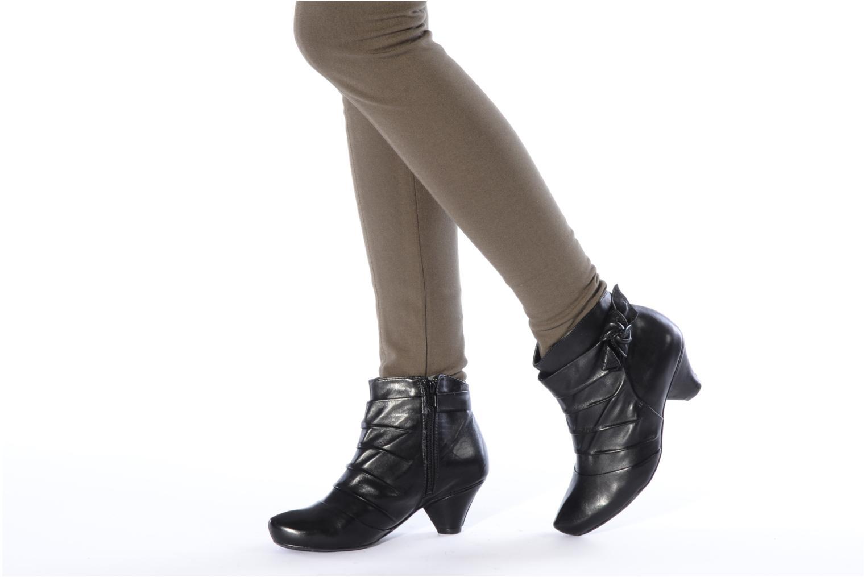 Boots en enkellaarsjes Clarks Krista azure Zwart onder