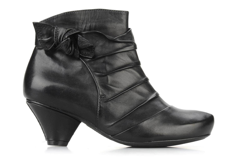 Krista azure Black leather