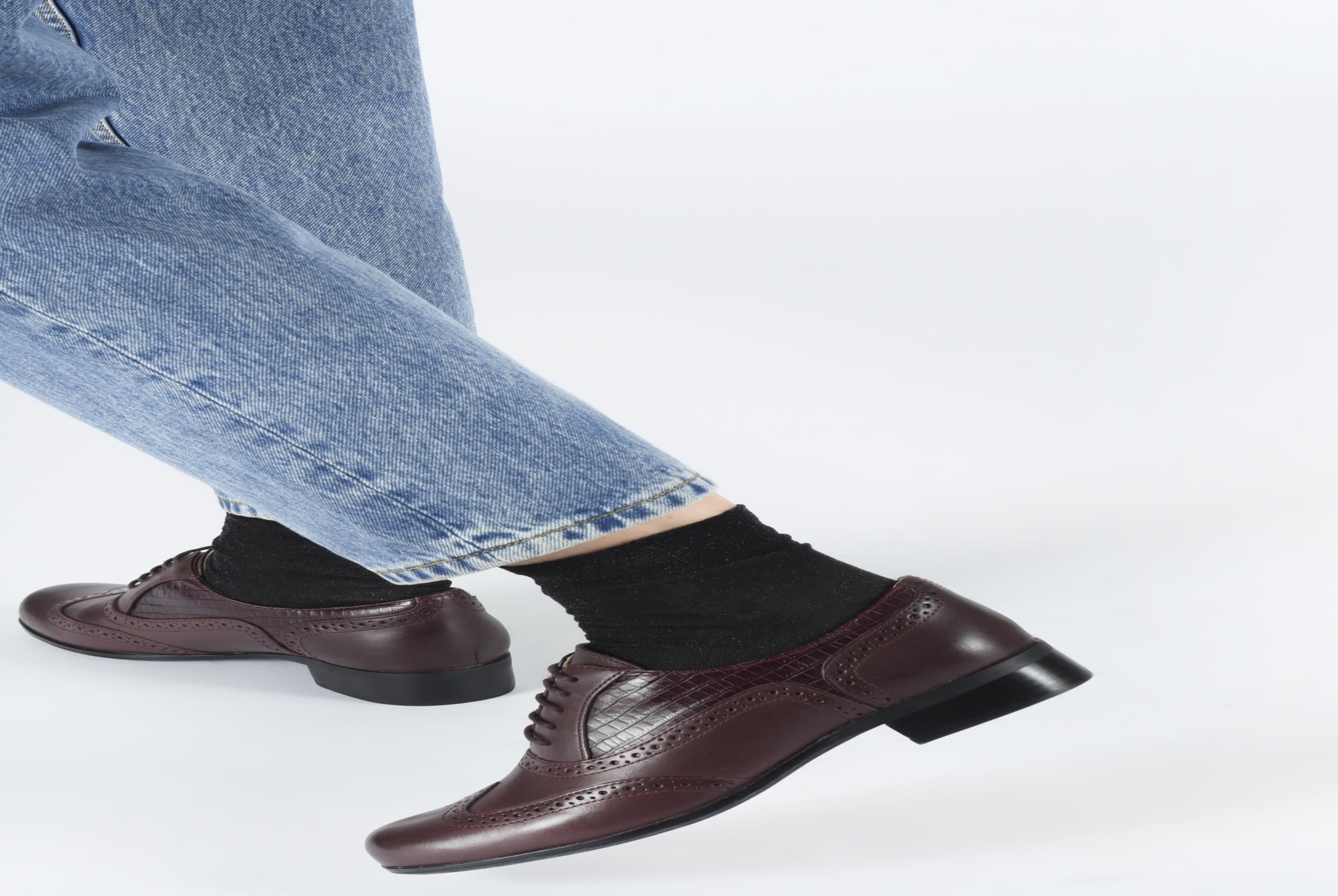 Chaussures à lacets Clarks Hamble Oak Beige vue bas / vue portée sac