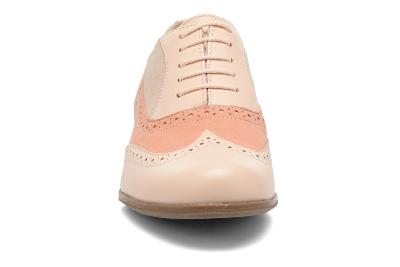 Chaussures à lacets Clarks Hamble Oak Beige vue portées chaussures