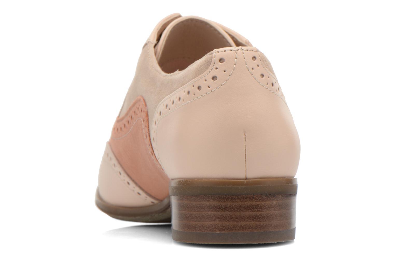 Chaussures à lacets Clarks Hamble Oak Beige vue droite