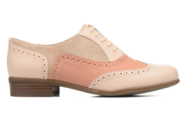 Chaussures à lacets Clarks Hamble Oak Beige vue derrière