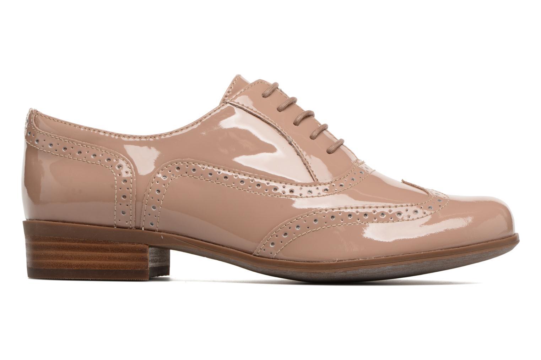 Lace-up shoes Clarks Hamble oak Beige back view