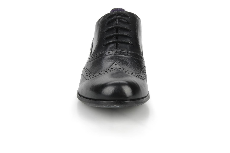 Chaussures à lacets Clarks Hamble Oak Noir vue portées chaussures