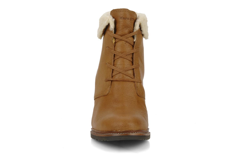 Bottines et boots Marc O'Polo Julietta Marron vue portées chaussures