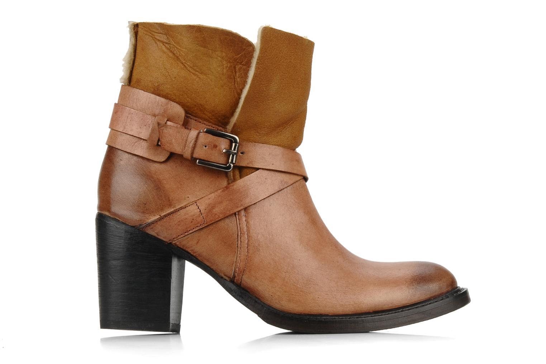 Bottines et boots Elizabeth Stuart Luz 682 Beige vue derrière
