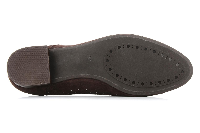 Chaussures à lacets Georgia Rose Perly Marron vue haut