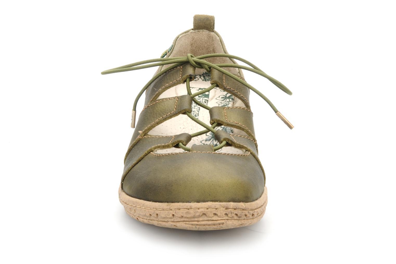 Escarpins El Naturalista Recyclus ella nw922 Vert vue portées chaussures