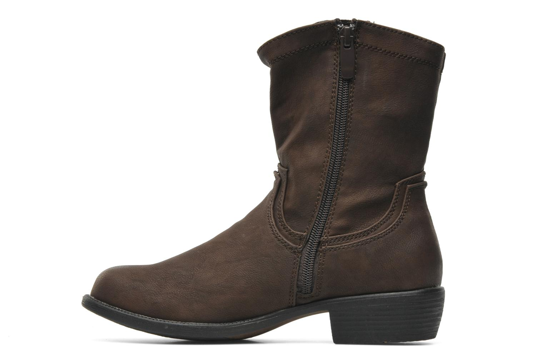 Botas I Love Shoes Fleur Marrón vista de frente