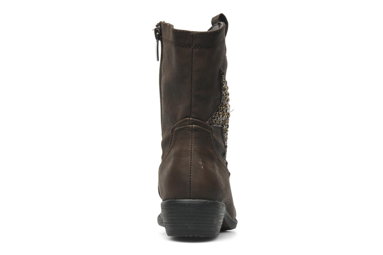 Bottes I Love Shoes Fleur Marron vue droite