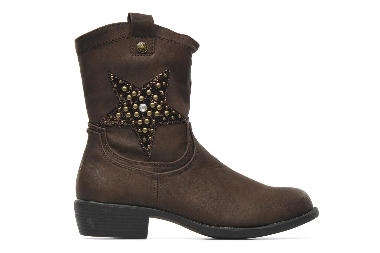 Stiefel I Love Shoes Fleur braun ansicht von hinten