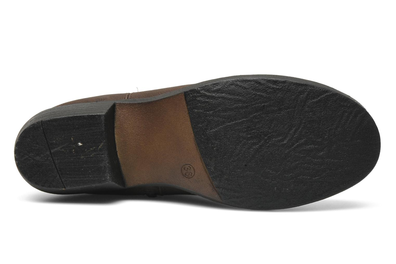 Bottes I Love Shoes Fleur Marron vue haut