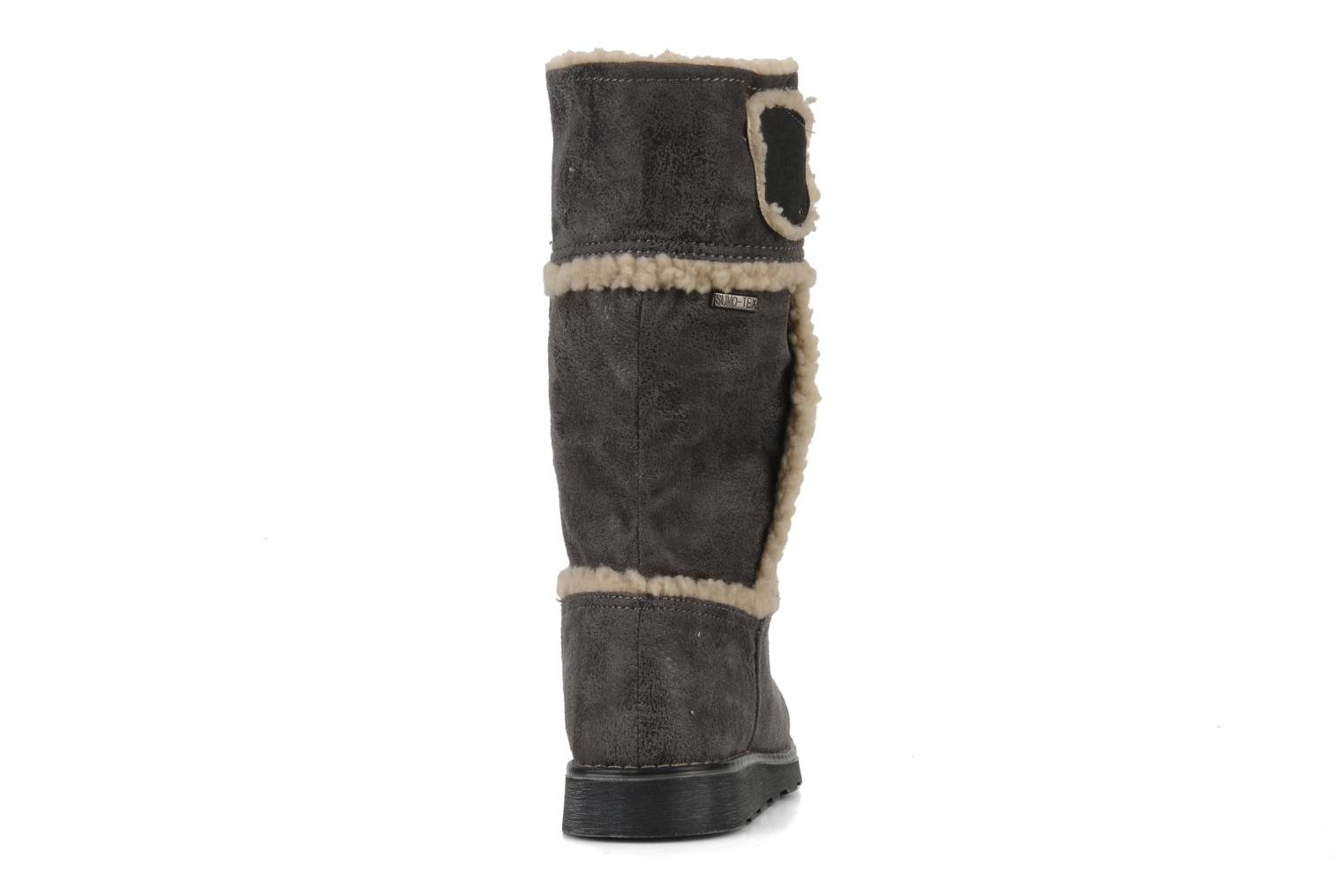 Botas I Love Shoes Fashion Gris vista lateral derecha