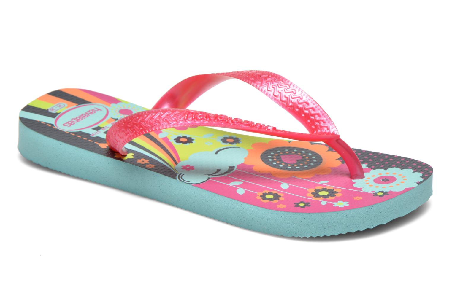 Kids flores Ice Blue