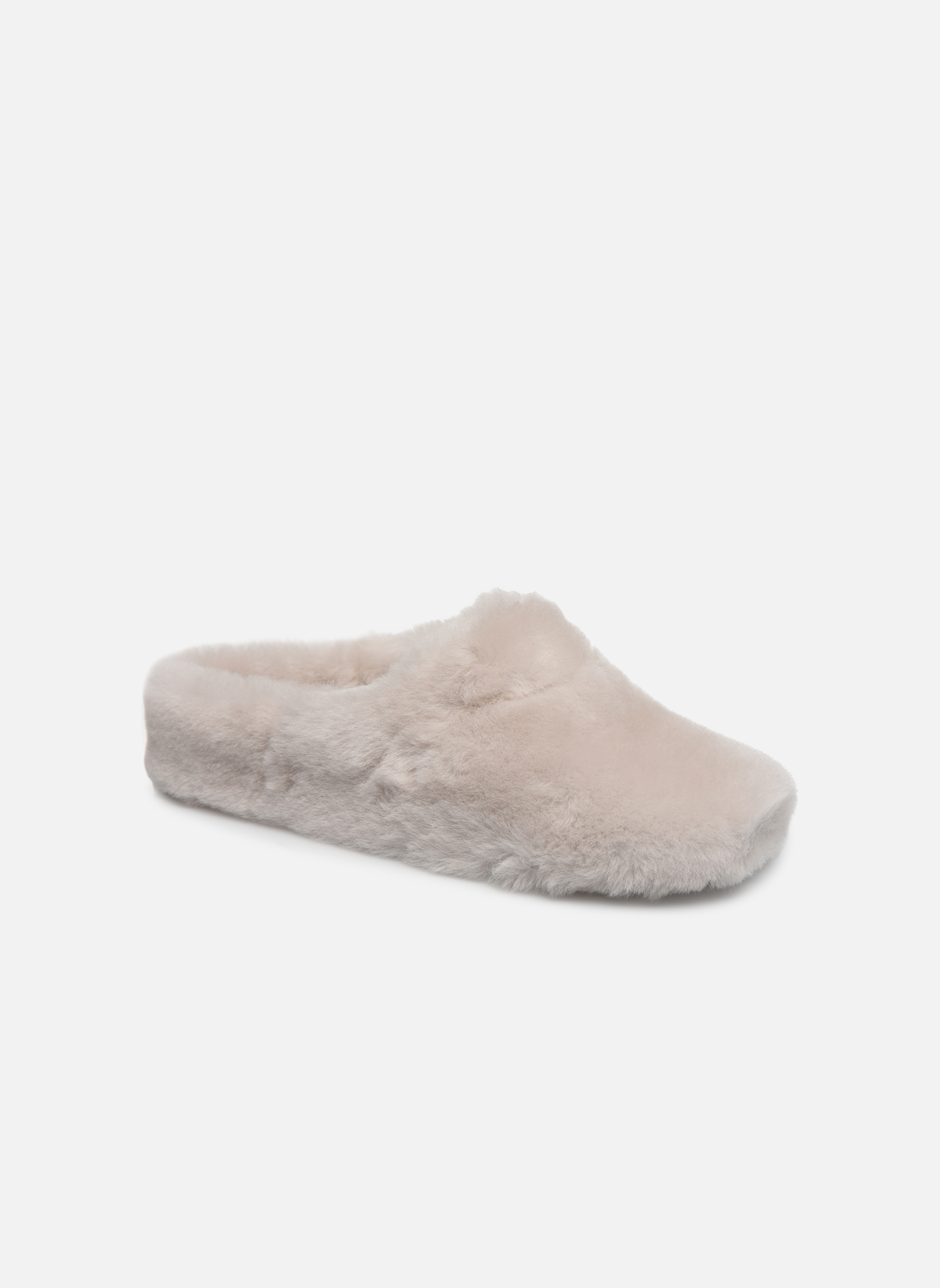 Slippers Giesswein Gerolding White detailed view/ Pair view