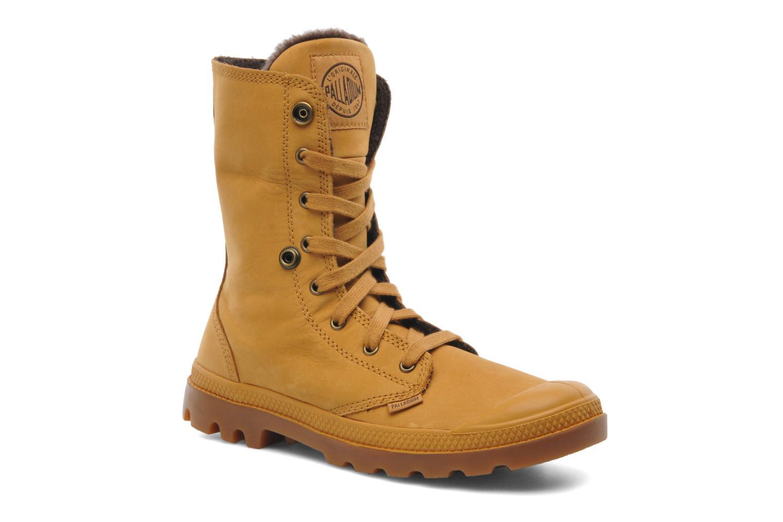 Bottines et boots Palladium Baggy l s m Beige vue 3/4