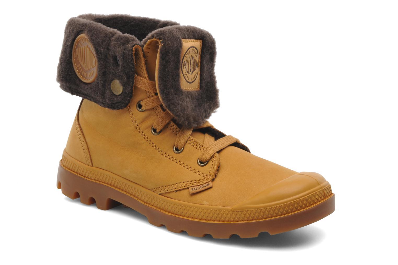 Bottines et boots Palladium Baggy l s m Beige vue détail/paire