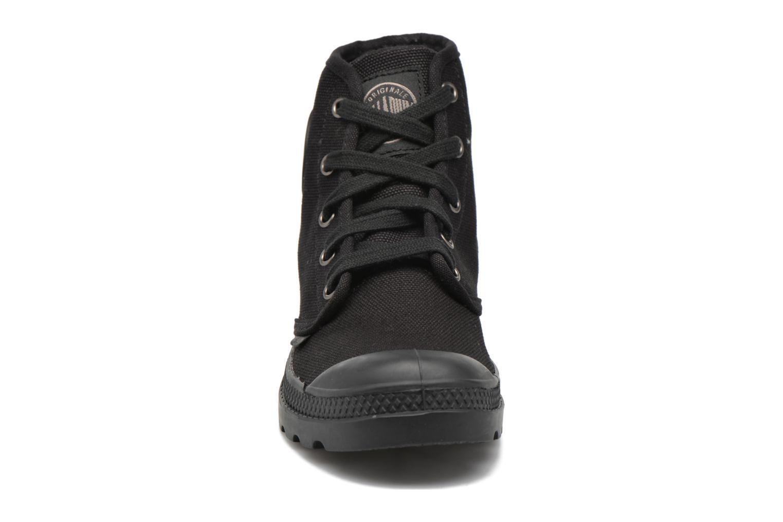 Sneaker Palladium Us pampa hi w schwarz schuhe getragen