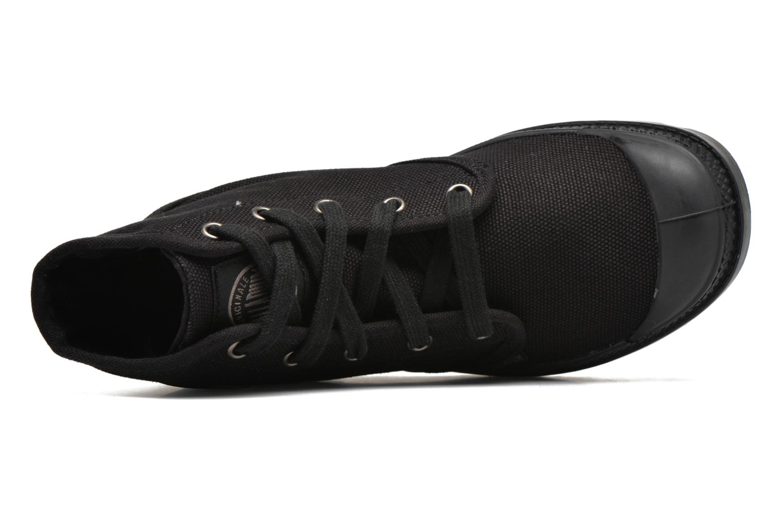 Sneaker Palladium Us pampa hi w schwarz ansicht von links