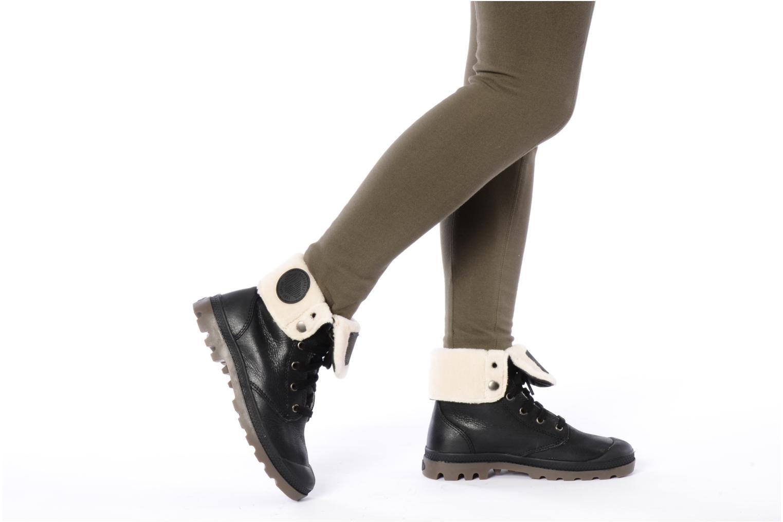 Bottines et boots Palladium Baggy ls w Marron vue bas / vue portée sac