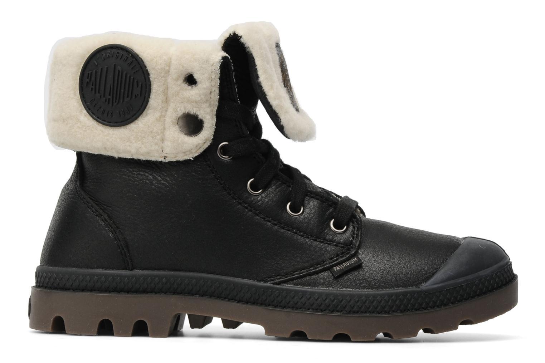Boots en enkellaarsjes Palladium Baggy ls w Zwart achterkant