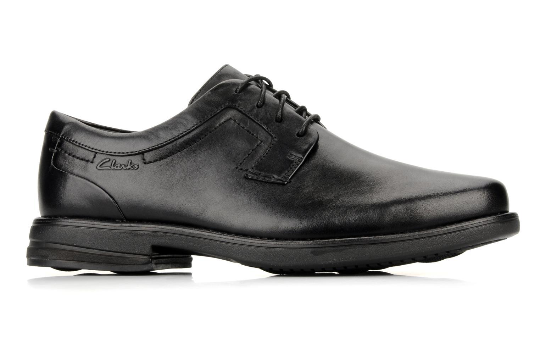 Chaussures à lacets Clarks Carter air Noir vue derrière