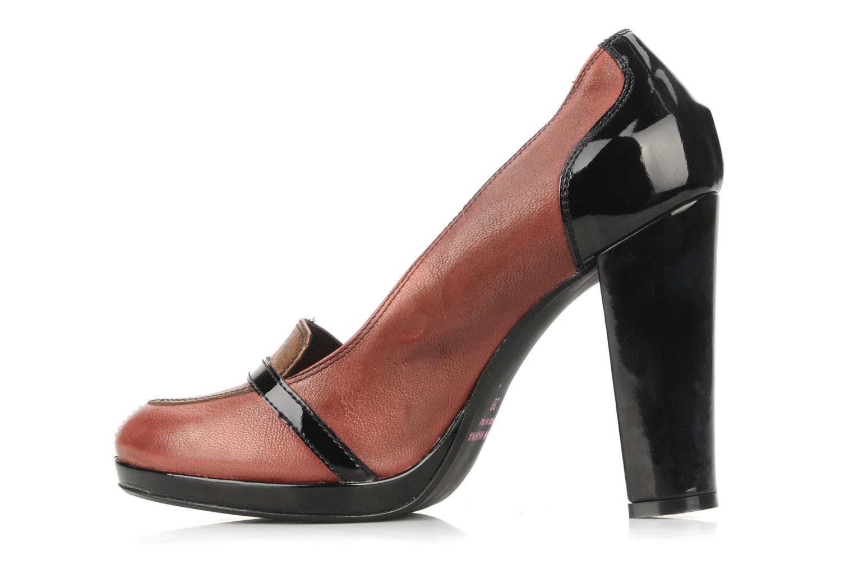 High heels San Marina Moracee Red front view