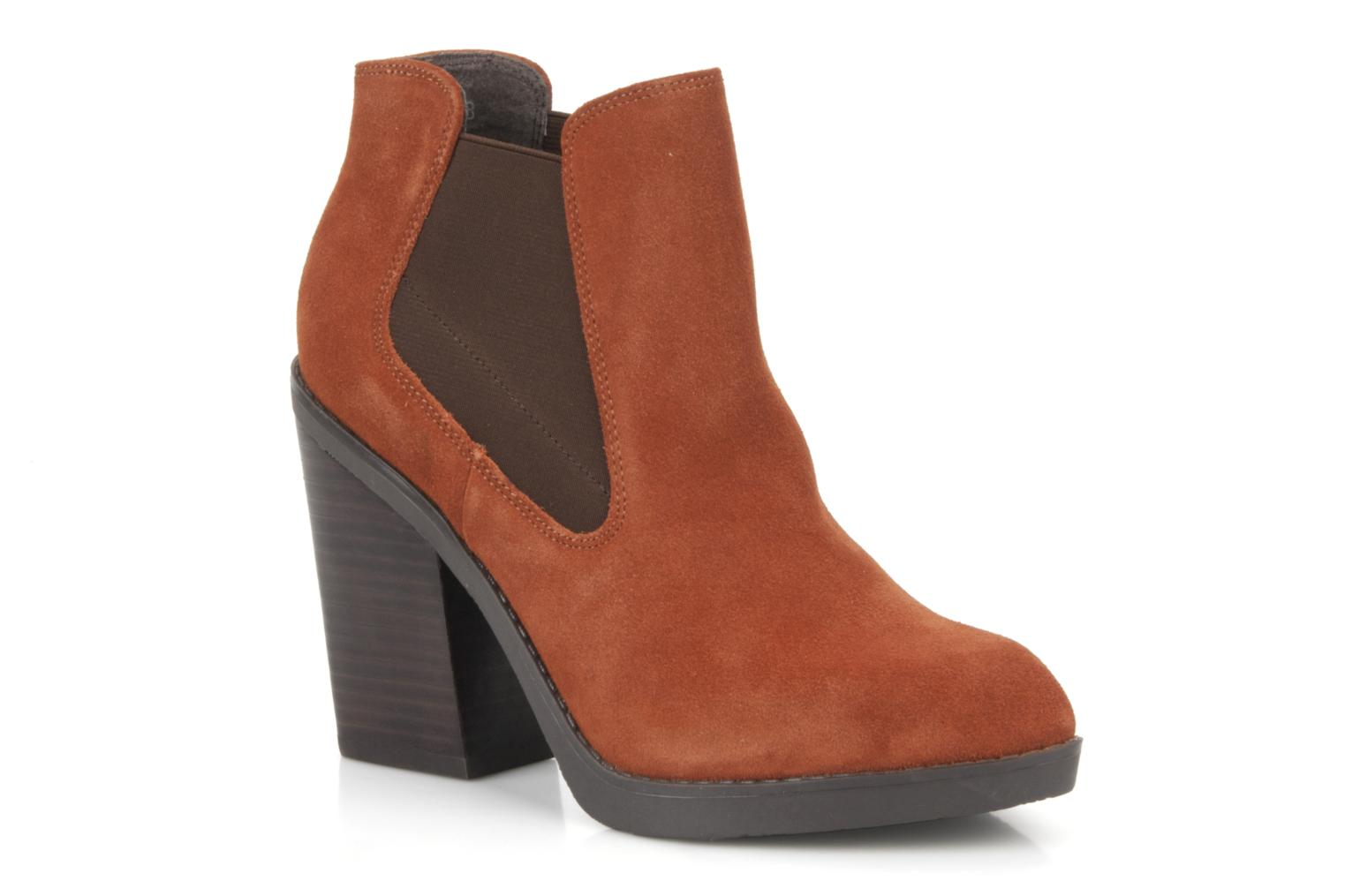 Julietta Orange Suede