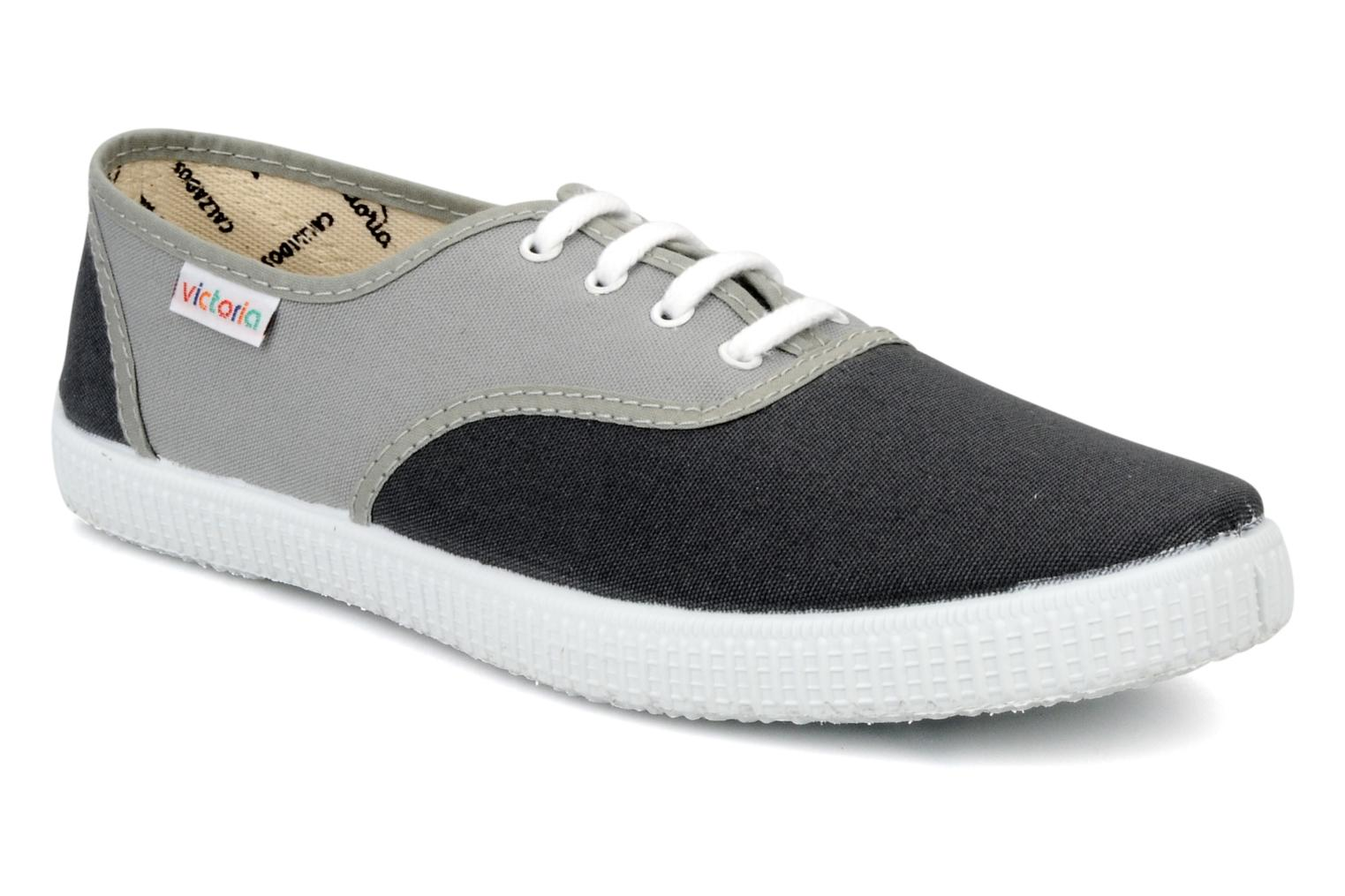 Trainers Victoria Victoria bicolore m Grey detailed view/ Pair view